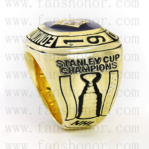 Customized NHL 1984 Edmonton Oilers Stanley Cup Championship Ring