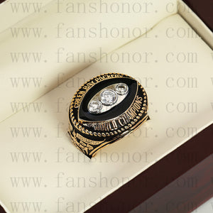 Customized Green Bay Packers NFL 1967 Super Bowl II Championship Ring