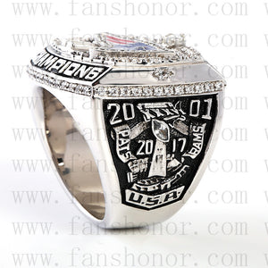 Customized New England Patriots NFL 2001 Super Bowl XXXVI Championship Ring