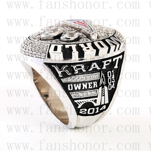 Customized New England Patriots NFL 2014 Super Bowl XLIX Championship Ring