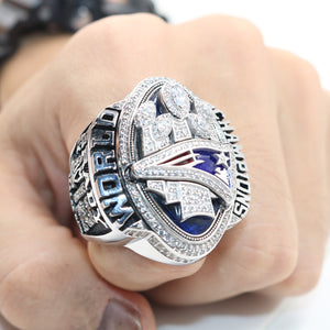 Customized New England Patriots 2016 Super Bowl LI Championship Rings