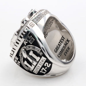 Custom New England Patriots 2016 Super Bowl LI Championship Rings