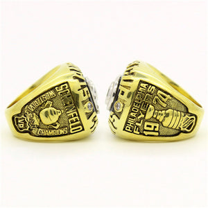 Custom 1974 Philadelphia Flyers NHL Stanley Cup Championship Ring