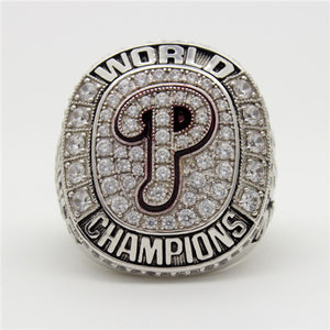 Custom 2008 Philadelphia Phillies MLB World Series Championship Ring
