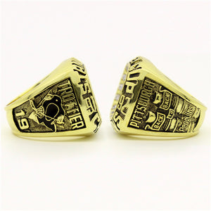 Custom 1992 Pittsburgh Penguins NHL Stanley Cup Championship Ring