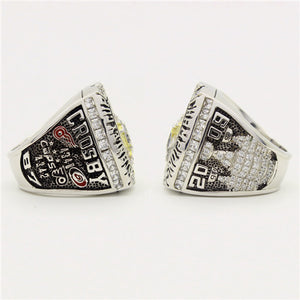 Custom 2009 Pittsburgh Penguins NHL Stanley Cup Championship Ring