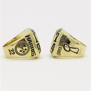 Custom Pittsburgh Steelers 1974 NFL Super Bowl IX Championship Ring
