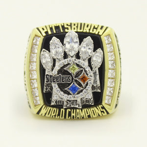 Custom Pittsburgh Steelers 2005 NFL Super Bowl XL Championship Ring