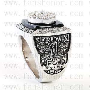 Customized Oakland Raiders NFL 1976 Super Bowl XI Championship Ring
