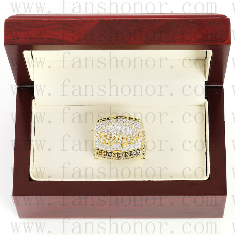 Customized St. Louis Rams NFL 1999 Super Bowl XXXIV Championship Ring