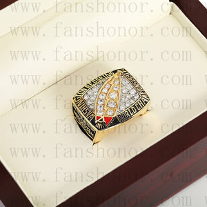Customized Washington Redskins NFL 1991 Super Bowl XXVI Championship Ring
