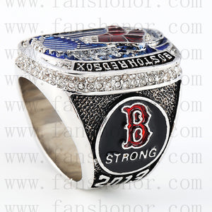 Customized MLB 2013 Boston Red Sox World Series Championship Ring