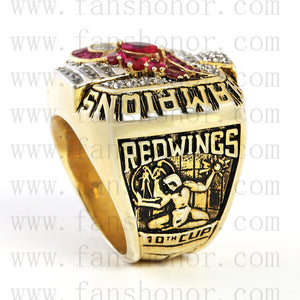 Customized NHL 2002 Detroit Red Wings Stanley Cup Championship Ring