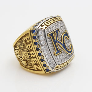 Custom MLB Kansas City Royals 2015 MLB World Series Championship Ring