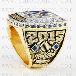 Customized MLB Kansas City Royals 2015 MLB World Series Championship Ring