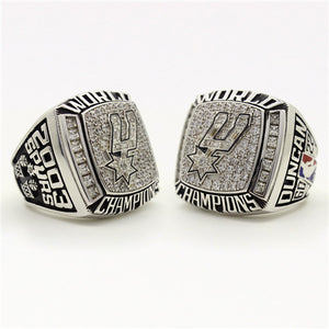 Custom 2003 San Antonio Spurs National NBA Basketball World Championship Ring
