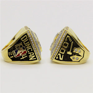 Custom 2007 San Antonio Spurs National NBA Basketball World Championship Ring