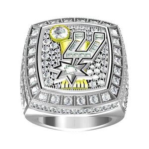 Custom 2014 San Antonio Spurs National NBA Basketball World Championship Ring