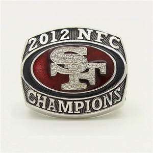 Custom 2012 San Francisco 49ers National Football Championship Ring