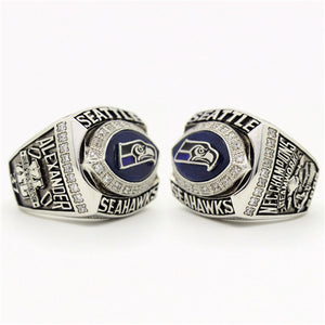 Custom 2005 Seattle Seahawks National Football Championship Ring