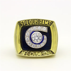 Custom 2001 St. Louis Rams National Football Championship Ring