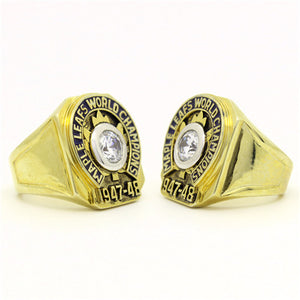 Custom 1948 Toronto Maple Leafs NHL Stanley Cup Championship Ring