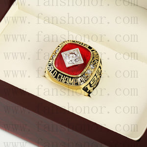 Customized MLB 1991 Minnesota Twins World Series Championship Ring