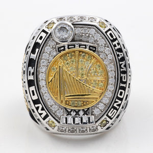 Custom 2017 NBA Golden State Warriors National Basketball World Championship Rings