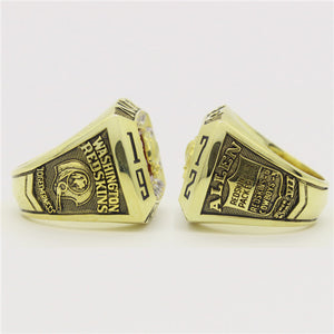 Custom 1972 Washington Redskins National Football Championship Ring