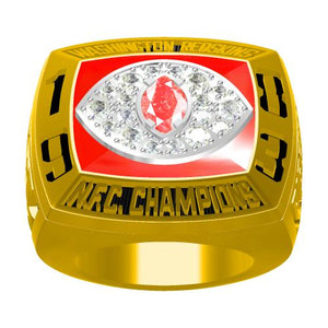 Custom 1983 Washington Redskins National Football Championship Ring