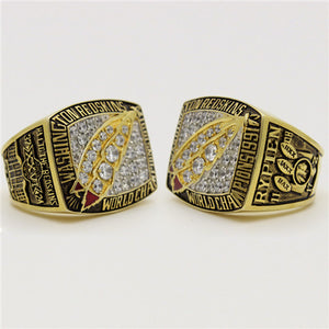 Custom Washington Redskins 1991 NFL Super Bowl XXVI Championship Ring