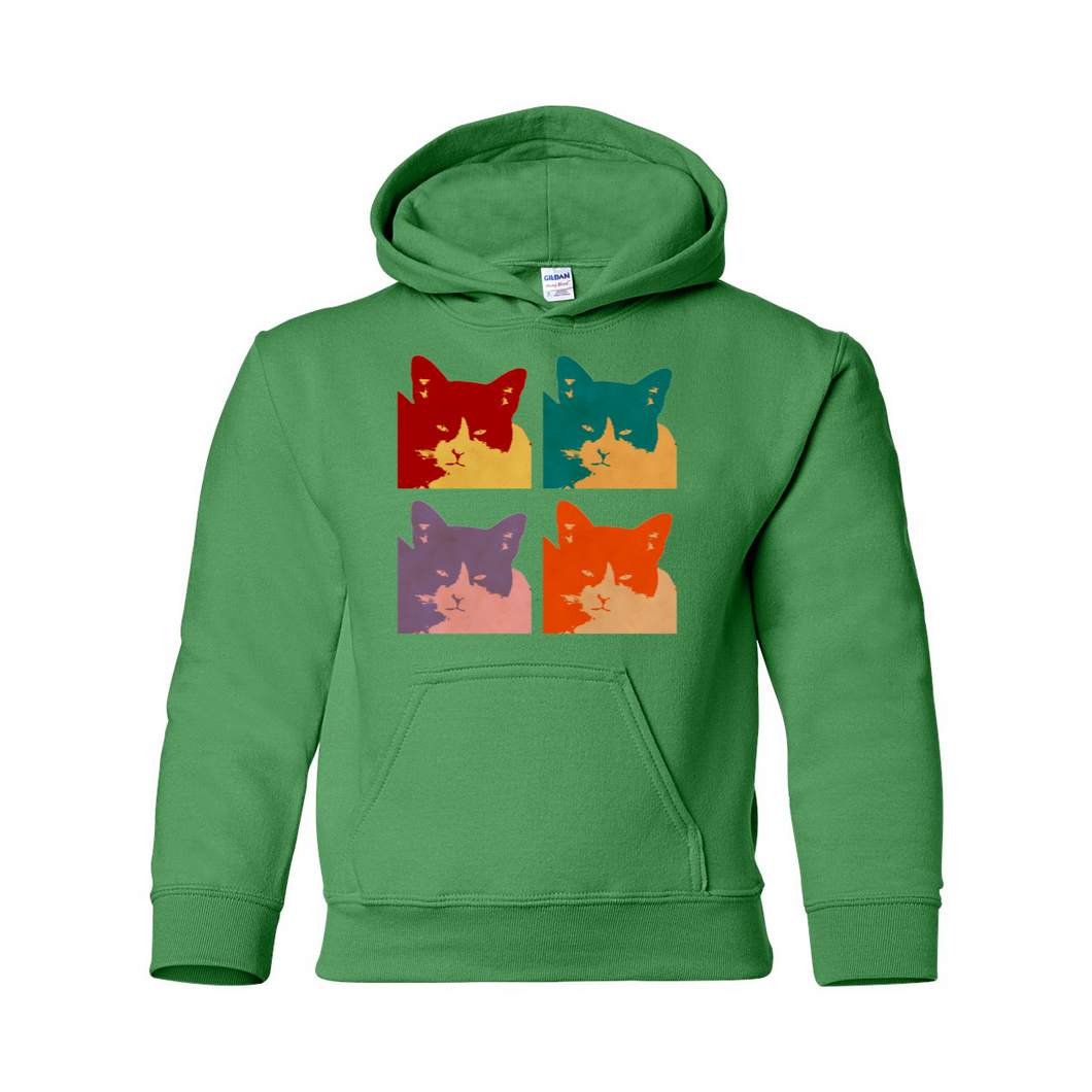 Cats Today Heavy Blend Youth Hooded Sweatshirt