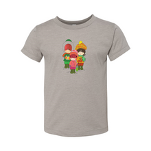 Load image into Gallery viewer, Three Christmas Carolers Toddler Short Sleeve Tee
