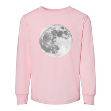 Load image into Gallery viewer, Contemporary Moon BELLA + CANVAS Toddler Jersey Long Sleeve Tee