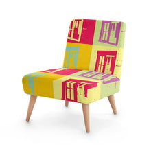Load image into Gallery viewer, Barn Window Pop Art Occasional Chair
