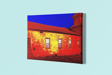 Load image into Gallery viewer, Abandoned Church Pop Art Canvas