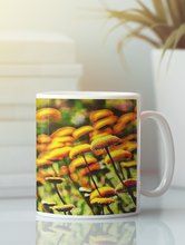 Load image into Gallery viewer, Button flowers digital pop art coffee mug