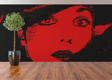 Load image into Gallery viewer, Mona digital art canvas print.