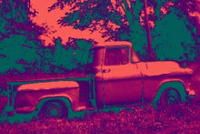Load image into Gallery viewer, 1957 Chevrolet Apache pickup truck Pop Art Print.