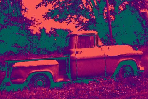 1957 Chevrolet Apache Pickup Truck Pop Art Print