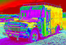 Load image into Gallery viewer, Coleman's milk truck pop art print.