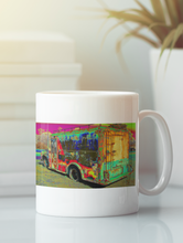 Load image into Gallery viewer, Coleman's milk truck pop art coffee mug.