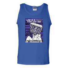 Load image into Gallery viewer, Life Is A Glitch Then You Die Men's Ultra Cotton Tank Top
