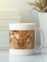 Load image into Gallery viewer, Nairobi digital abstract pop art coffee mug.