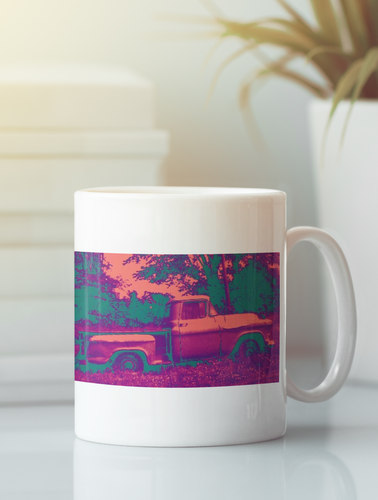 1957 Chevrolet Apache pickup truck coffee mug.
