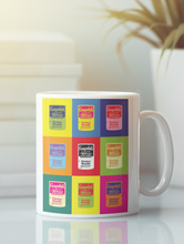 Load image into Gallery viewer, Campbell's soup can modern pop art coffee mug.