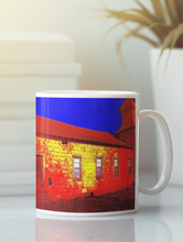 Load image into Gallery viewer, Abandoned Church Pop Art Coffee Mug