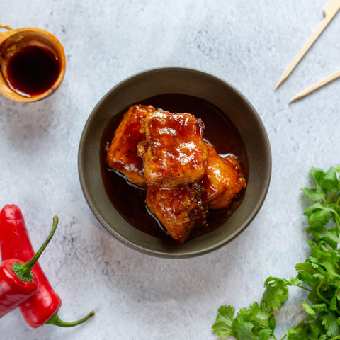 Cantonese Pork Belly Bites
