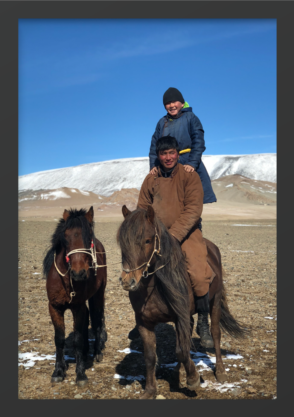 Brothers: Nomads of Mongolia