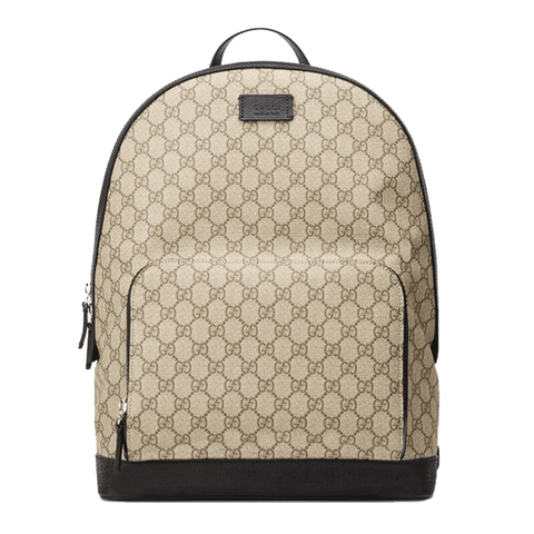 Bullet Blocker Gucci Signature Leather Backpack